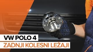Odstraniti Kolesni lezaj VW - video vodič