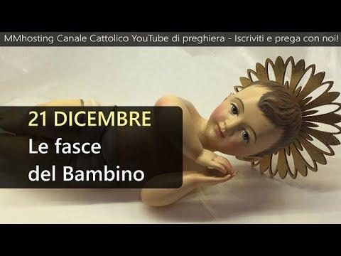 Risultati immagini per 21 Dicembre: Le fasce del Bambino - Mese dedicato al Santo Natale