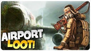 Day R Survival Update - Airport Epic Loot, GEIGER COUNTER! | Day R Survival Gameplay