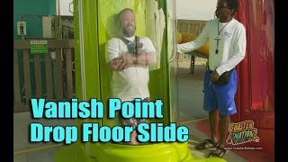 Vanish Point Drop Slide POV & On Ride - Adventure Island Tampa