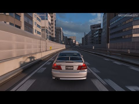 Gran Turismo Sport - Mitsubishi Lancer Evolution IV GSR '96 Gameplay [PS4 Pro]