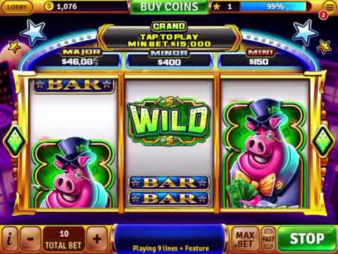 House of fun colossal pigs new featured slot machine