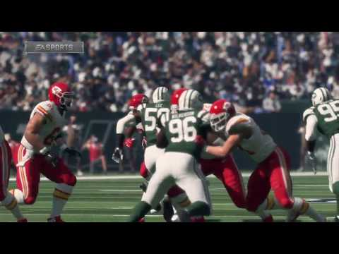 Madden 18 - Kansas City Chiefs vs New York Jets - Full Game Simulation Nation