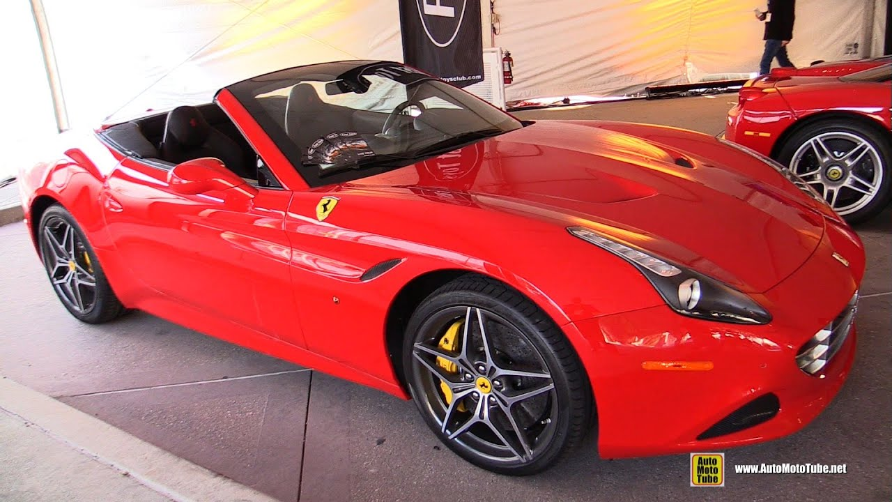 2015 ferrari california t convertible exterior and interior walkaround 2014 la auto show. Black Bedroom Furniture Sets. Home Design Ideas