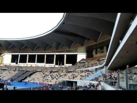 View of  the Olympic Stadium in Sevilla - U2 60º Tour (30th Sept. 2010)