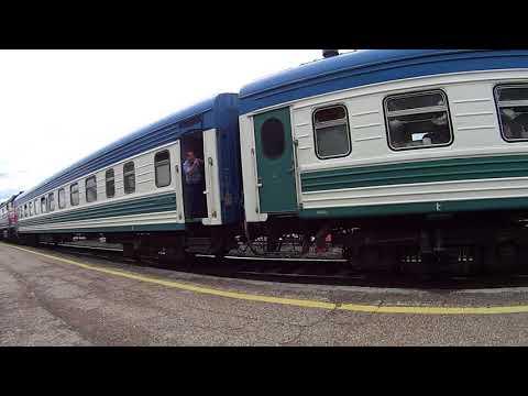Отправление из Стерлитамака поезда 382 Уфа — Ташкент (Full HD)