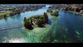 Switzerland - Stein am Rhein (4K) Drone Footage DJi Phantom 3