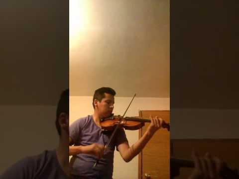 all of me. violin