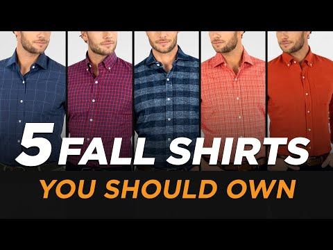 5-fall-shirts-every-man-should-own-(wardrobe-essentials)