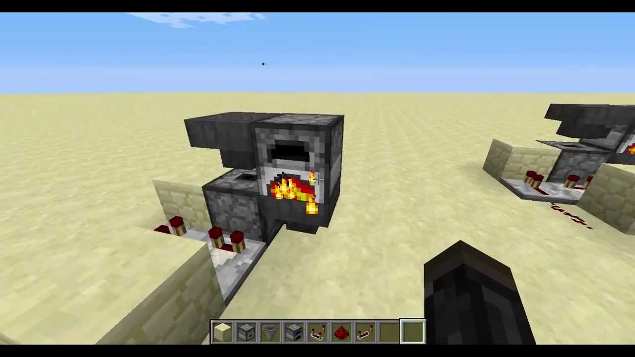 how to make a charcoal in minecraft