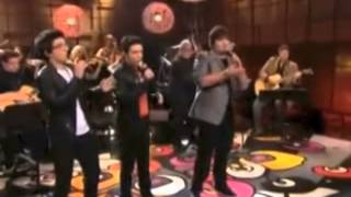 Il Volo singing O Sole Mio on Jay Leno Tonight Show - 2011