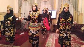 Tari Gantar Pahlawan Kalimantan Timur