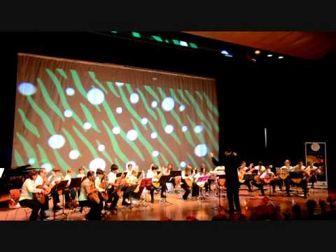Danube Classical Guitar Orchestra at GEMS World Academy 09 1211part 3/14