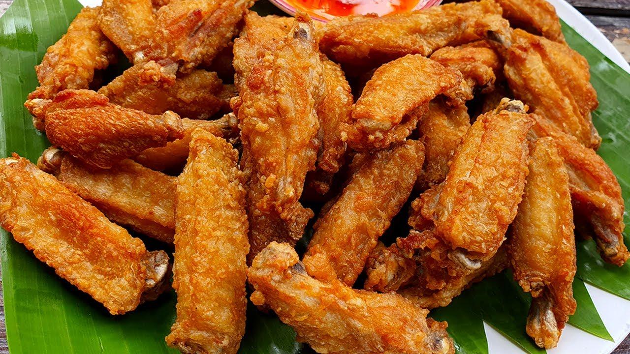 ปีกไก่ทอดเกลือ ทอดแบบกรอบๆ กรอบนอก นุ่มใน Fried chicken recipe