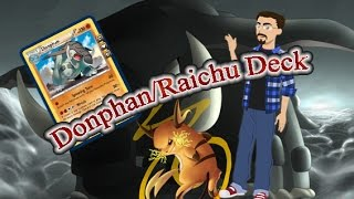(Español) Mazo Deck Donphan/PHF BC-ON PTCGO (Pokemon trading card game online)