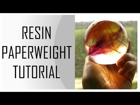 Resin/Feather Paperweight | Tutorial