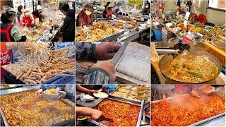 보기만해도 힐링되는 달인의 베스트 길거리 음식 모음 Top9 / Top9, best korean food master / korean street food