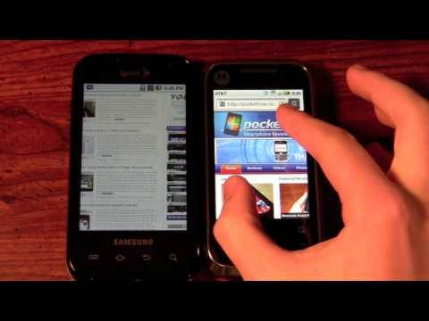 Motorola Flipside vs Samsung Transform