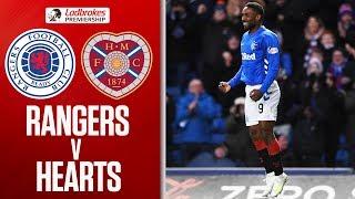 Rangers 3-0 Hearts | Defoe on Target as Rangers Bounce Back | Ladbrokes Premiership thumbnail