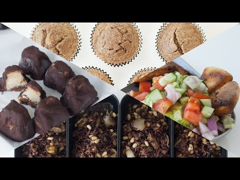 Meal Prep With Me: Snacks & Treats // Rachel Aust
