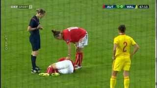 Fußball Frauen EM Quali Österreich - Wales  2 Halbzeit 3-0
