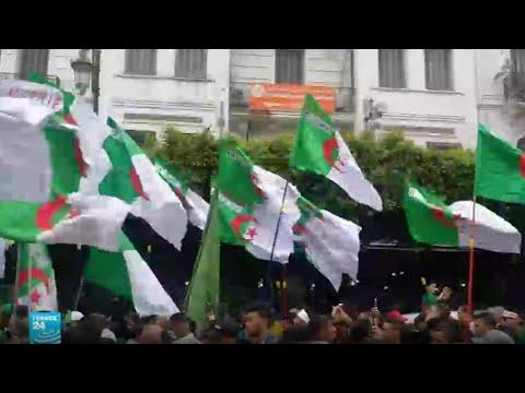 الجزائر: الحراك الشعبي يطالب -برحيل بقايا النظام ومحاسبة الفاسدين-