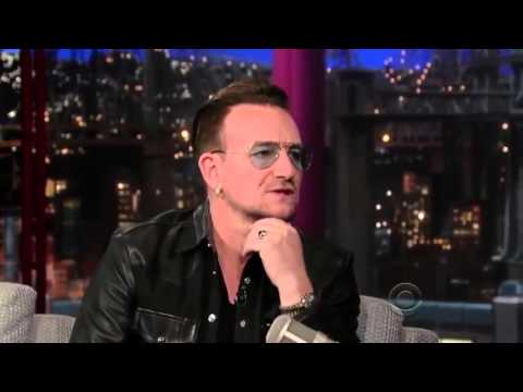 Bono old full interview on David Letterman Late Show