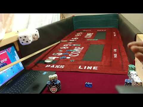 Craps HACKING Strategy|How to Bet within your SRR| FAST Rolls Session