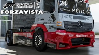 Forza 6 - Mercedes-Benz Tankpool24 Racing Truck - Forzavista & Gameplay