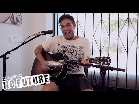 "Jeff Rosenstock- ""Melba"" (Acoustic session from 6 months before 'Post-' was released) l No Future"