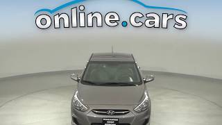 G14735TR Used 2017 Hyundai Accent SE FWD 4D Sedan Gray Test Drive, Review, For Sale
