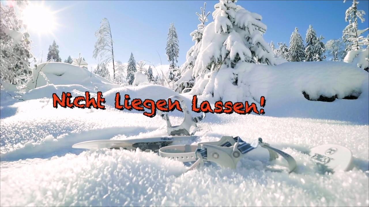 Schneeschuh Pauschale Youtube