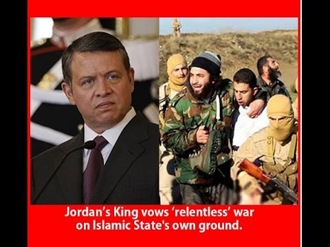 When Jordan's King Abdullah Has To Leave His Throne And Punish The Terror