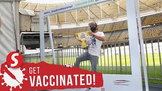 Newly-opened mega PPV in Bukit Jalil ramps up vaccination drive