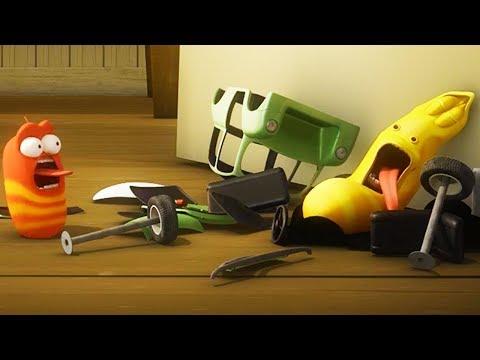 LARVA - CRASH | Cartoon Movie | Cartoons For Children | Larva Cartoon | LARVA Official