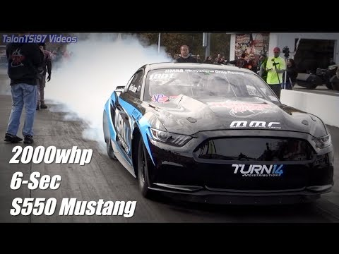 2000whp Turbo S550 Mustang First in the 6s! Billet MMR Block