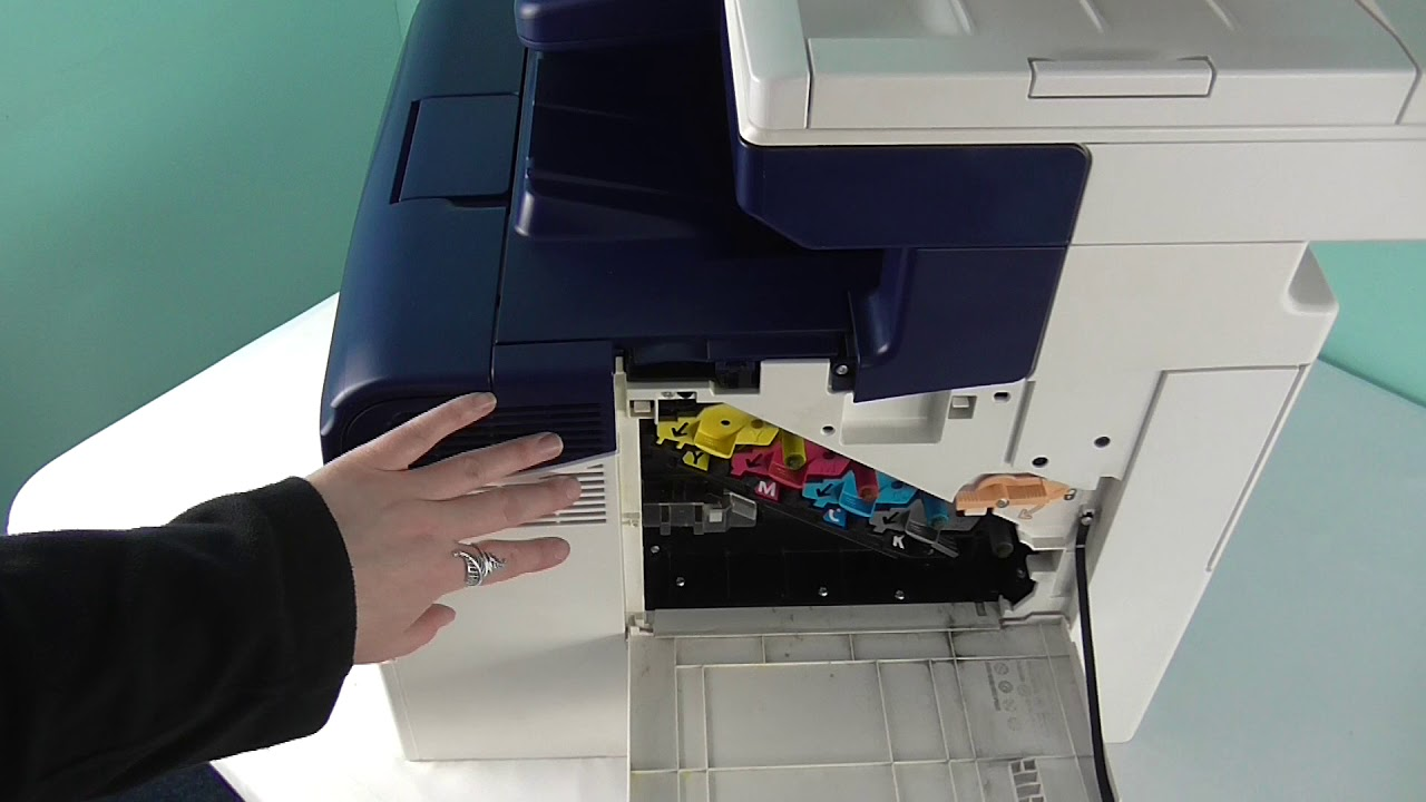 How To Change Your Drum Units And Waste Toner Units In Xerox