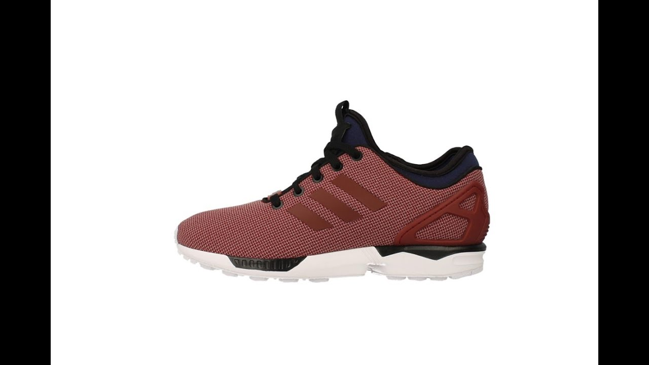 7f2a78ed3889c ... authentic adidas zx flux 2.0 bordeaux rood sneaker review youtube 76791  bc49b