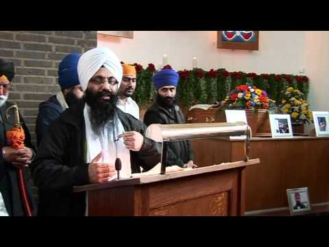 SIKH TV CEO BHAI GAGANDIP SINGH FUNERAL PART 2