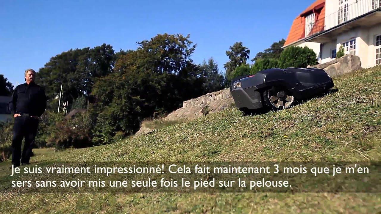 Chapitre 5 : La Tondeuse Automatique Husqvarna Peut-elle Aborder Les Pentes  ?