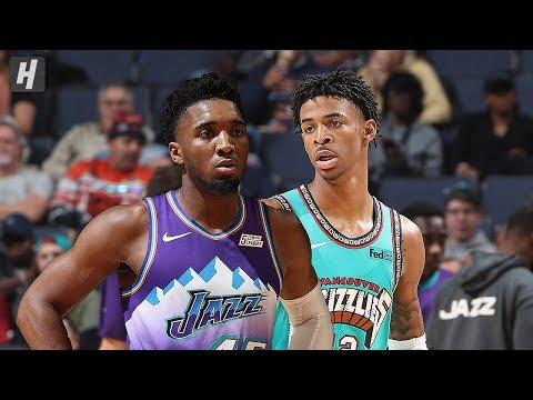 Utah Jazz vs Memphis Grizzlies - Full Game Highlights   November 29, 2019   2019-20 NBA Season