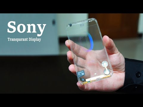 Sony Xperia Foldable Phone - Will Have A Transparant Display!!