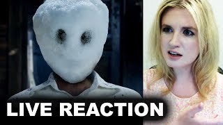The Snowman Trailer REACTION