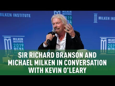 Sir Richard Branson and Michael Milken in Conversation with Kevin ...