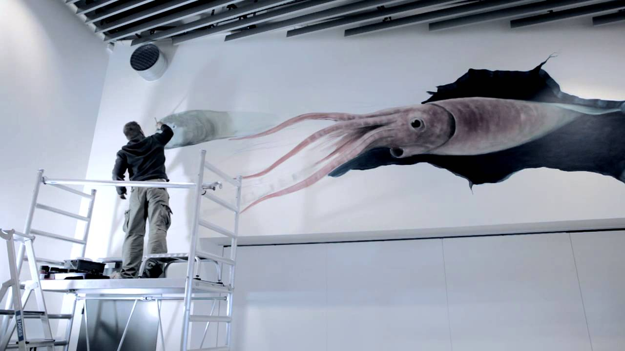 Wall Painting 3d Effect