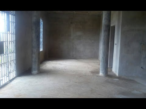 Building in Ghana Part 10 || Plastering 2|| Main Level Interior ||