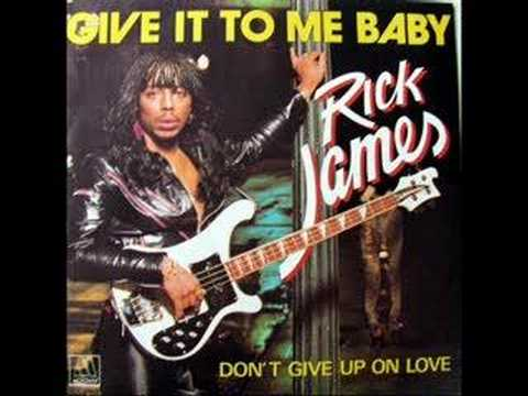 Rick James - Give It To Me Baby 12 Inch