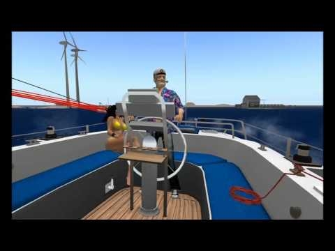 second life Bandit 60 yacht