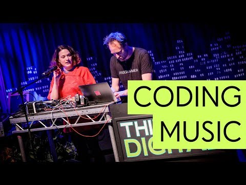 Coding Music Live Performance by Sam Aaron & Jylda