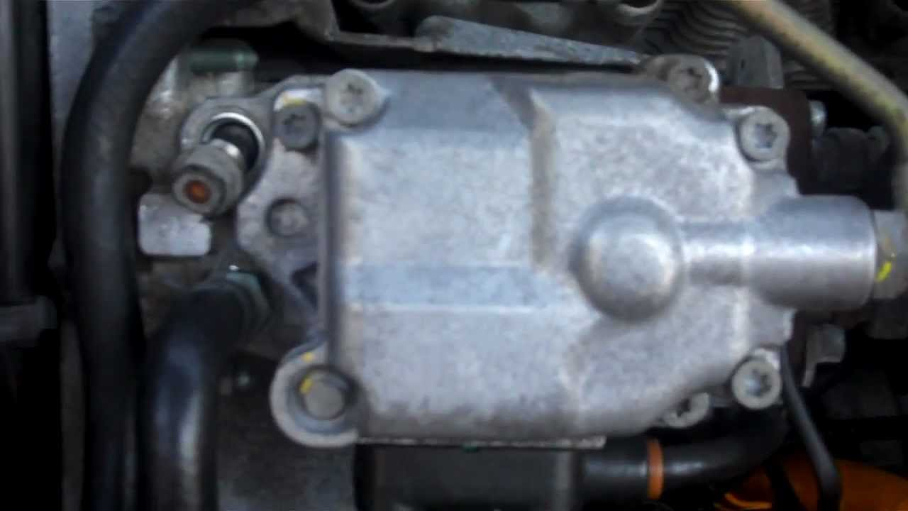 vw tdi injection pump release valve part 1of2 youtube rh youtube com
